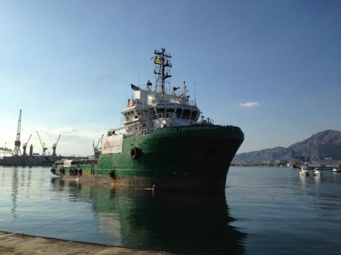 nave Bourbon Argos di Medici Senza Frontiere