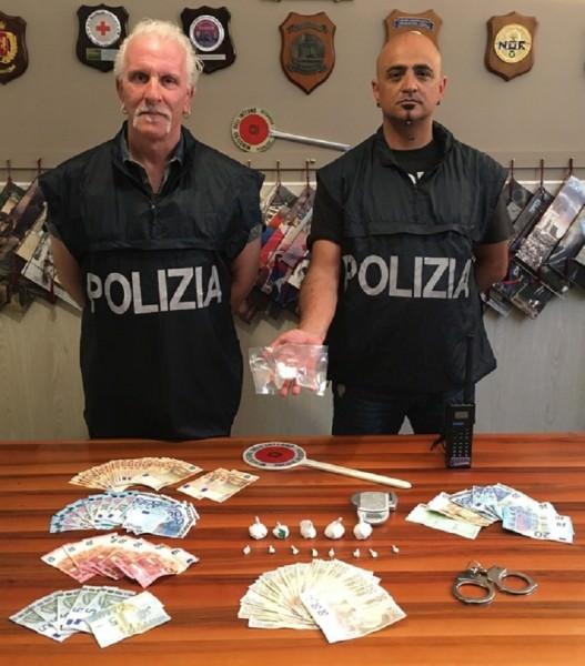 Droga sequestrata da polizia a Palermo