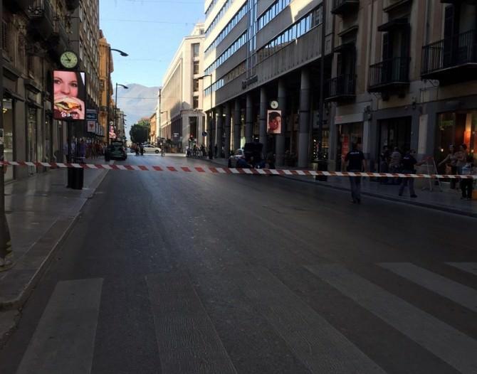 Alalrme-bomba-via-Ruggero-Settimo
