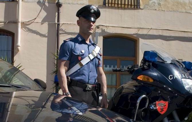 Carabiniere sventa rapina 1