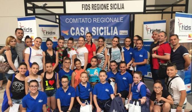 FIDS Sicilia a Rimini per il Campionato di danza sportiva 2016