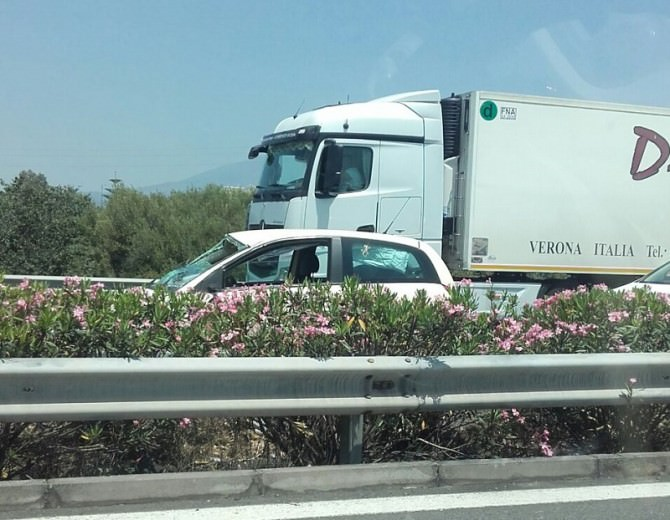 incidente tangenziale