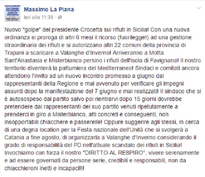 Post Massimo La Piana