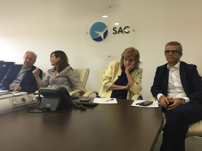 Ornella Laneri e Daniela Baglieri, amministratore e presidente Sac