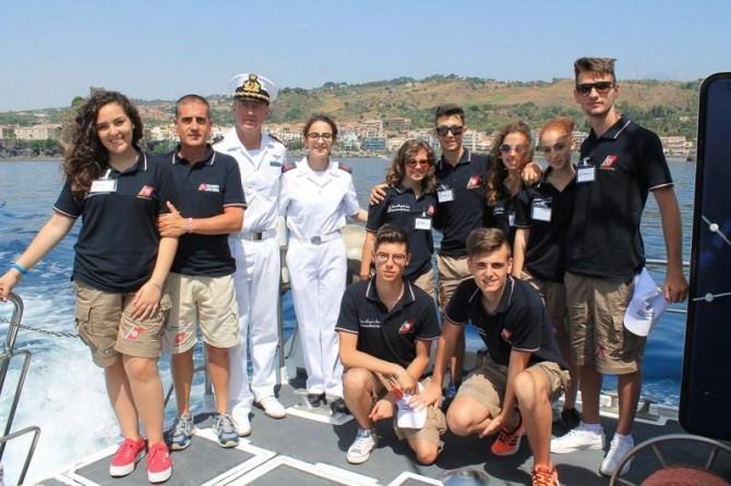 """""""Campo Giovani 2016"""", 56 ragazzi affiancano i militari della Guardia Costiera"""