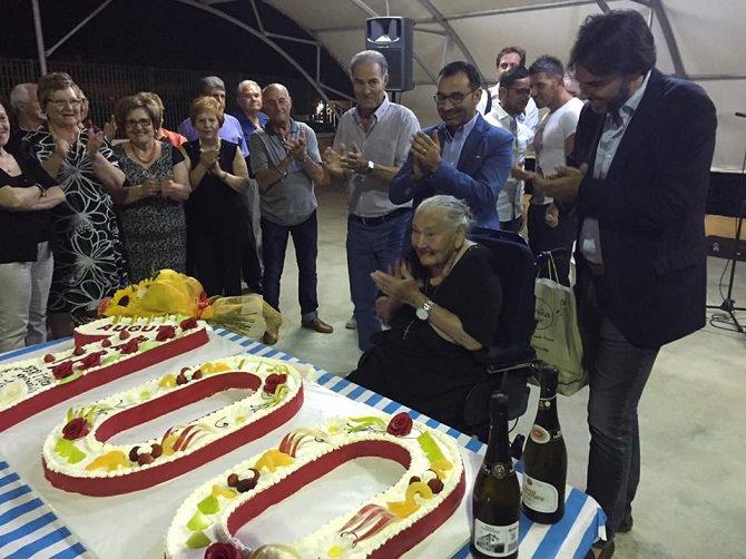 Compleanno nonna Maria Tomasi (100 anni)