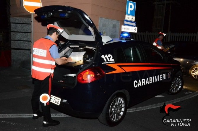 Controlli Carabinieri Marina Acate (RG)