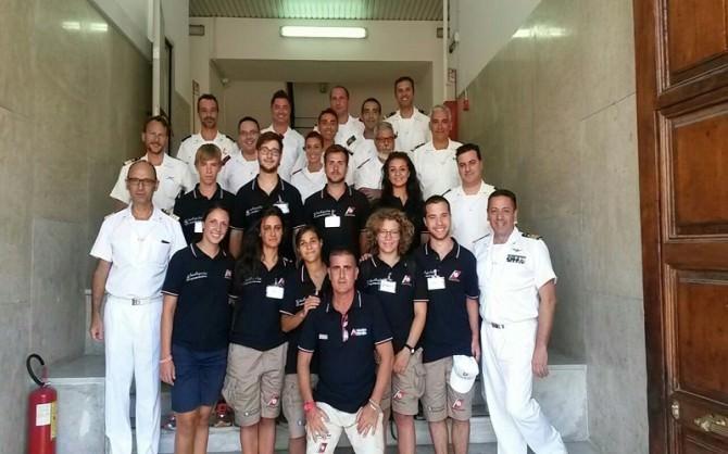 Catania: lezioni di soccorso in mare per otto studenti ospiti della Guardia Costiera