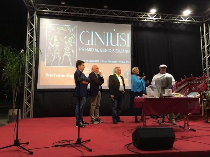"""Tutti a Pedara la prima di """"Giniùsi - Premio al genio siciliano"""""""