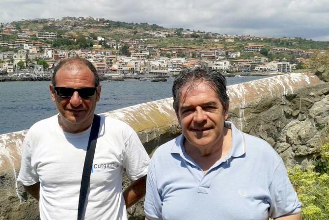 Isola Lachea Visita sindaco Ct Bianco 14 agosto