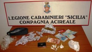 Spaccio droga Giuseppe Scuderi