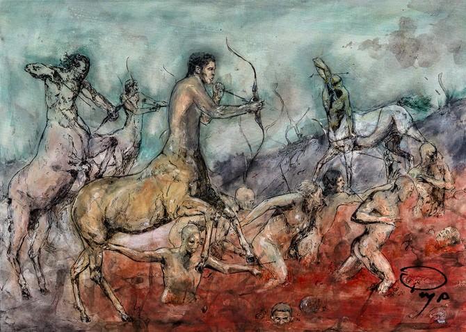 XII Canto dell'Inferno, Paolo Massimiliano Paterna
