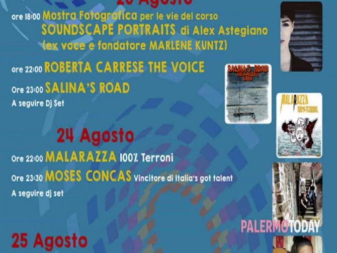 ad alimena arriva il  soundscape festival  con nomi del rock indipendente e di  the voice