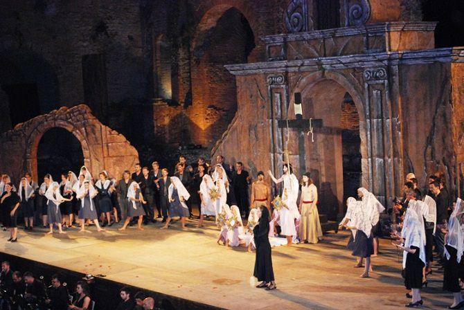 cavalleria rusticana taormina opera stars una scena bis