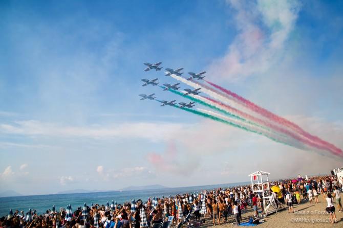 """Frecce Tricolori a Brolo: """"Siamo orgogliosi di essere tornati in Sicilia"""""""