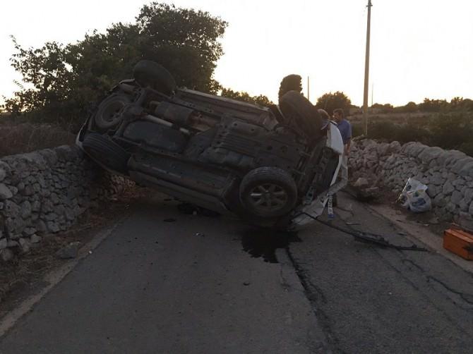 jeep rovesciata