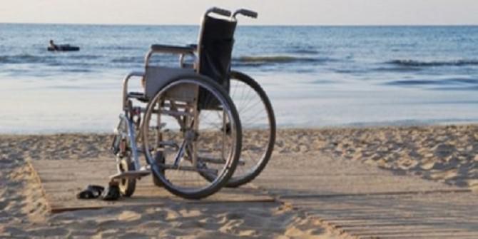 spiaggia pedana disabili
