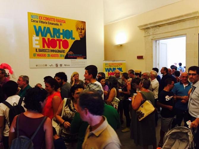 Noto: prorogata fino al 30 Ottobre la mostra dedicata ad Andy Warhol