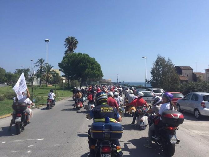 Raduno Amici moto d'Epoca: 10° anniversario festeggiato con successo