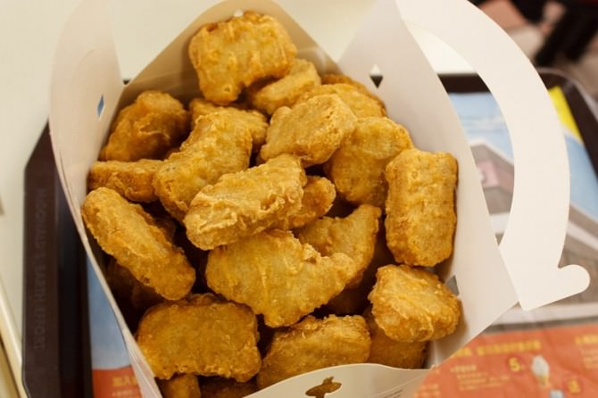 crocchette di pollo