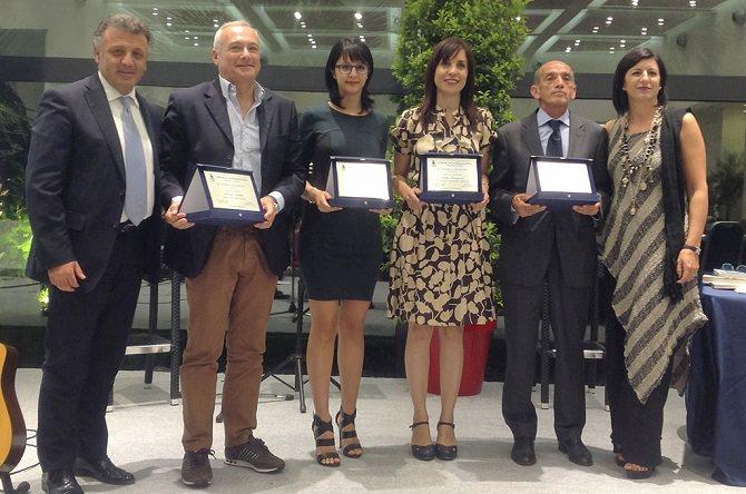 I premiati dello scorso anno con il sindaco Russo e l'assessore Di Bella