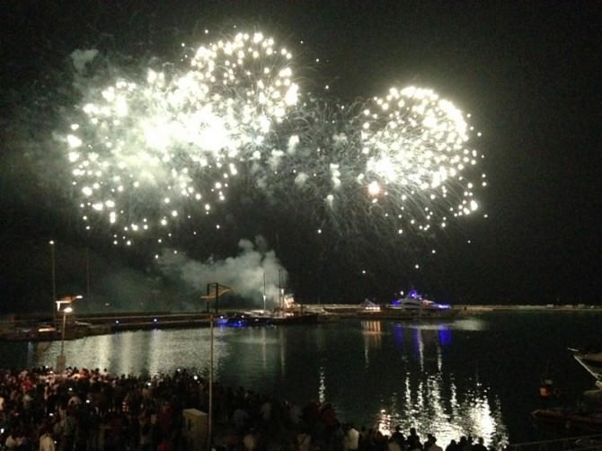 """Marina di Ragusa: spettacoli e fuochi d'artificio per """"Arrivederci Estate, Ciao"""""""