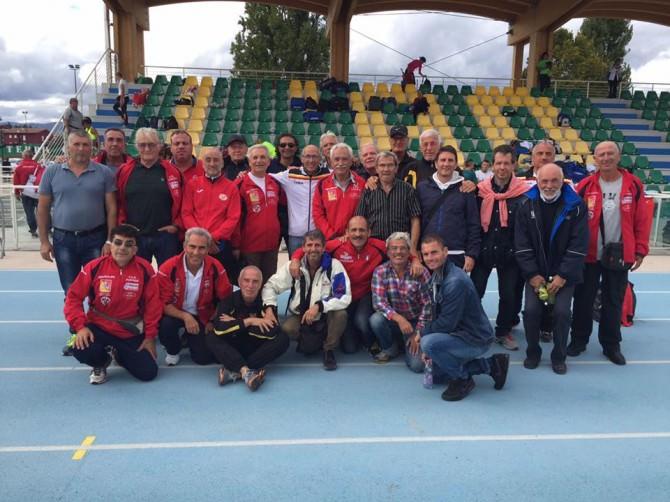 Nella foto: catanesi e palermitani accomunati dopo le gare