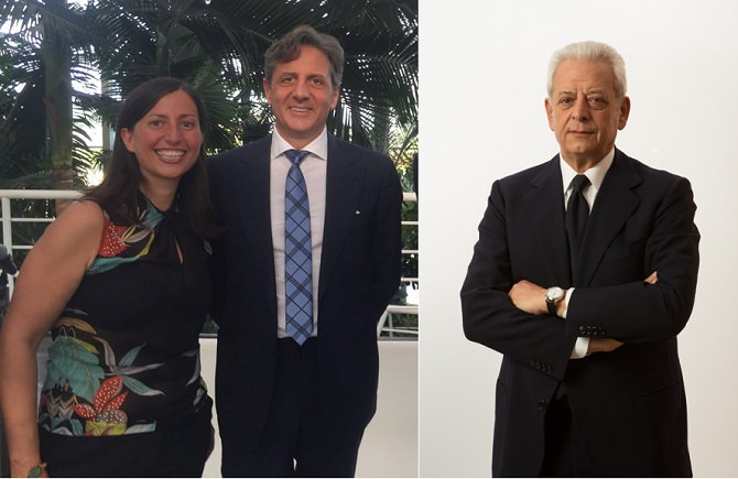 Da sinistra: Cristina Scuderi, Salvatore Abate e Salvatore Mancuso