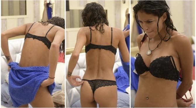 """La """"più bella della casa"""", Mariana Rodriguez, incanta tutti con uno spogliarello sexy"""