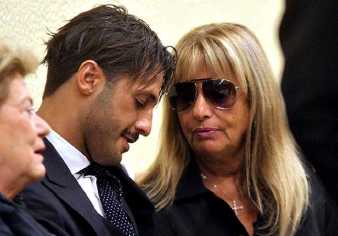 Fabrizio Corona e la madre