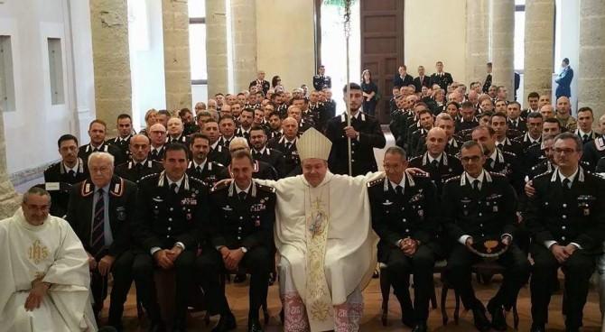 L'Ordinario Militare visita il Commando Legione Carabinieri Sicilia
