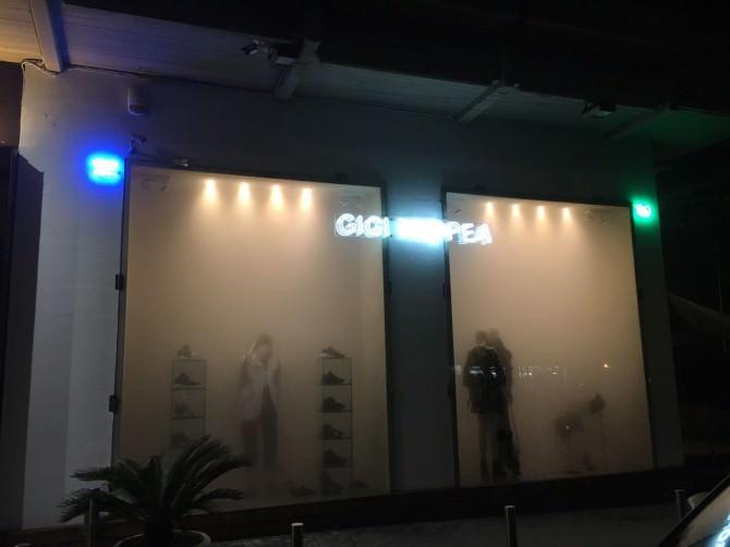 Fumo intenso nel negozio di Gigi Tropea: si parla di guasto