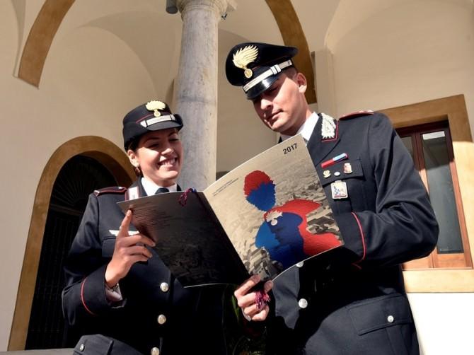 Catania: presentazione del calendario dell'arma dei carabinieri