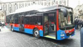 9 autobus nuovi per potenziare il servizio AMT