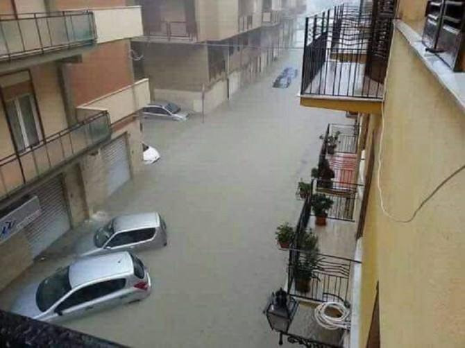"""""""Licata ha bisogno d'aiuto"""": pioggia incessante e allagamenti nell'agrigentino. LE FOTO"""