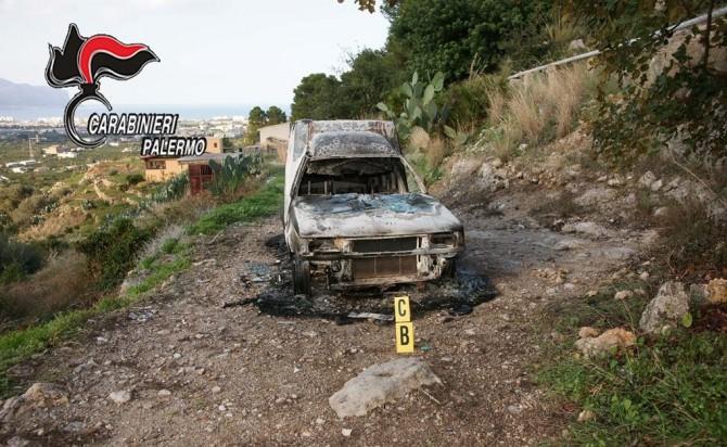 Scoperto nelle campagne di Palermo un corpo carbonizzato