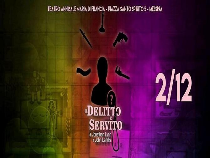 """Al teatro Annibale di Messina torna Sasà Neri con la commedia """"Il delitto è servito"""""""
