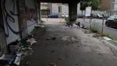 Il degrado della zona di viale Lorenzo Bernini a Catania