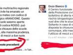 Spariscono i commenti su Facebook contro la decisione del sindaco Bianco