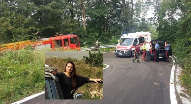 Auto giù da un burrone: muore 42enne di Fiumefreddo. Tre feriti