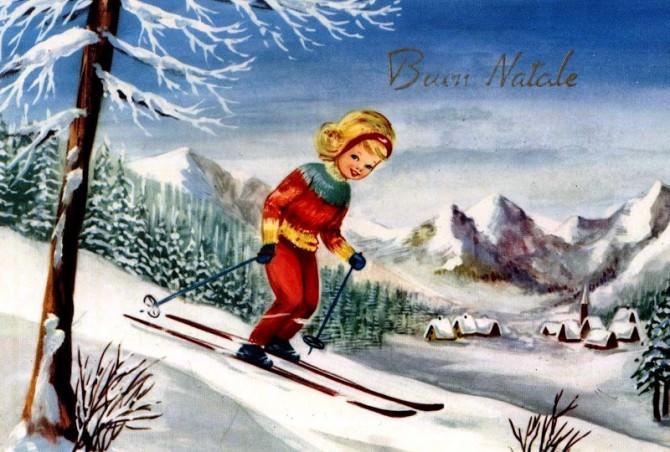 Il Buon Natale nelle cartoline Italiane