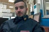 Luca Scatà fa il saluto fascista: a rischio l'immagine di eroe dell'agente che ha ucciso Anis Amri
