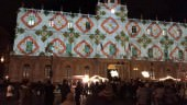 Cerimonia per l'inaugurazione dell'albero di Natale di piazza Stesicoro, tra polemiche e solidarietà