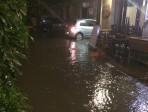 Via Santa Filomena è sotto scacco della pioggia: il ciclico triste destino del cuore della movida catanese