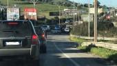 Maltempo e buche a non finire: lavori in corso in direzione Misterbianco, traffico in tilt