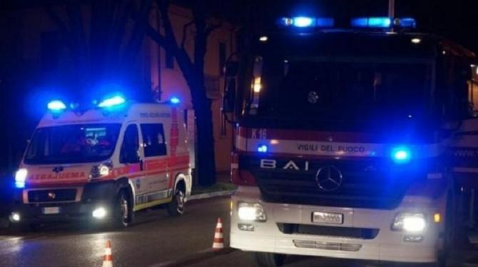 ambulanza-e-vigili-del-fuoco-sera-notte