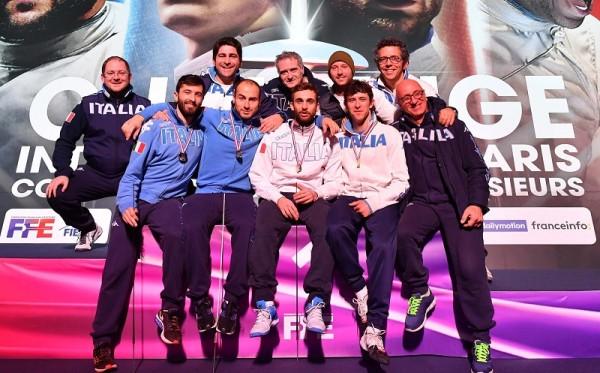 Paris World Cup  22.01.2017  foil  men's Photo Augusto Bizzi