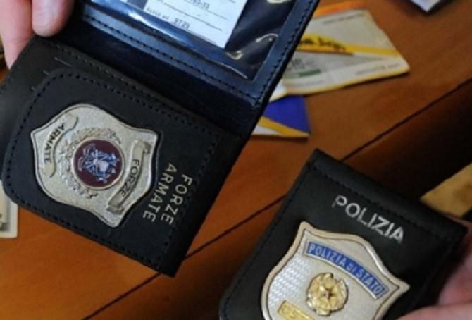 Distintivo polizia