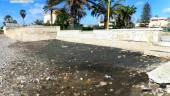 Spiaggia nera a San Leone. Appello di Mareamico all'Arpa