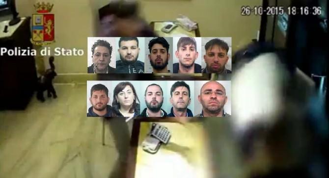 """""""Operazione Cowards"""": le FOTO, i NOMI, le INTERCETTAZIONI e i DETTAGLI delle rapine"""
